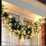 Mejorar el exterior de la casa en navidad
