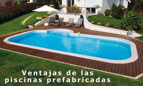 Ventajas de las piscinas prefabricadas ideas para decorar for Ideas para decorar alrededor de la piscina