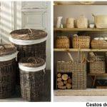 Decora tu hogar con objetos de mimbre para dar un toque rústico y natural