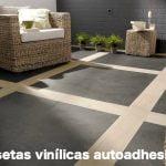 Renovar el suelo o paredes con loseta vinílica autoadhesiva